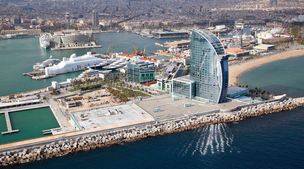 Foto puerto Barcelona para empresas uruguayas
